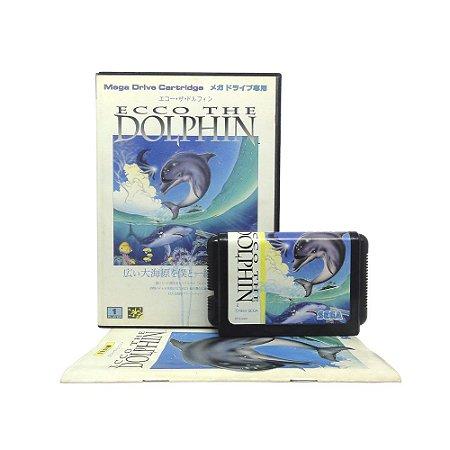 Jogo Ecco the Dolphin - Mega Drive (Japonês)