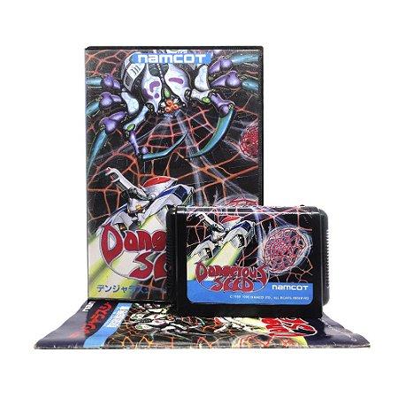 Jogo Dangerous Seed - Mega Drive (Japonês)