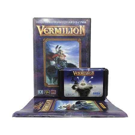 Jogo Vermilion - Mega Drive (Japonês)