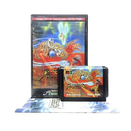 Jogo Elemental Master - Mega Drive (Japonês)