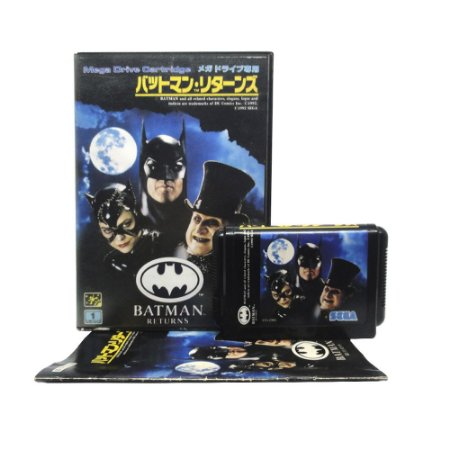 Jogo Batman Returns - Mega Drive (Japonês)