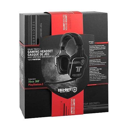 Headset Gamer Tritton 5.1 (Edição Call of Duty: Black Ops) com fio - PS3 e Xbox 360