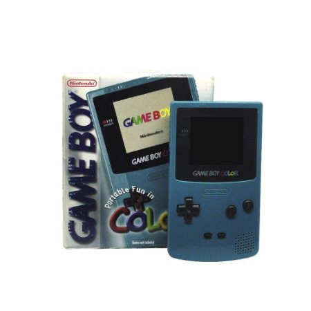 Console Game Boy Color Teal - Nintendo (Europeu)