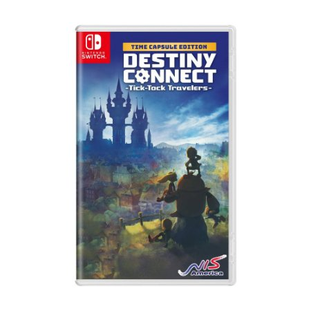 Jogo Destiny Connect: Tick-Tock Travelers - Switch