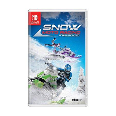 Jogo Snow Moto Racing Freedom - Switch