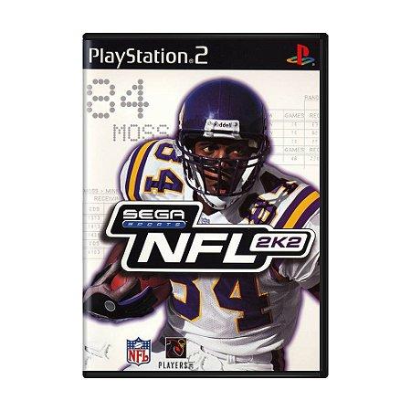 Jogo NFL 2K2 - PS2