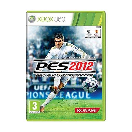 Jogo Pro Evolution Soccer 2012 (PES 12) - Xbox 360 (Europeu)