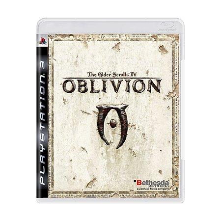 Jogo The Elder Scrolls IV: Oblivion - PS3
