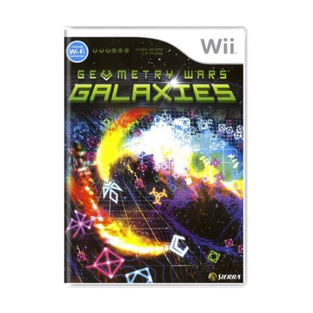 Jogo Geometry Wars: Galaxies - Wii