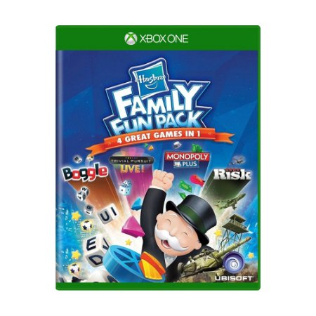 Jogo Hasbro Family Fun Pack: 4 Great Games in 1 - Xbox One