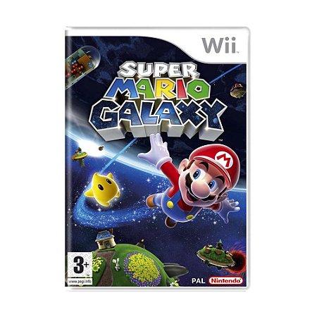 Jogo Super Mario Galaxy - Wii (Europeu)