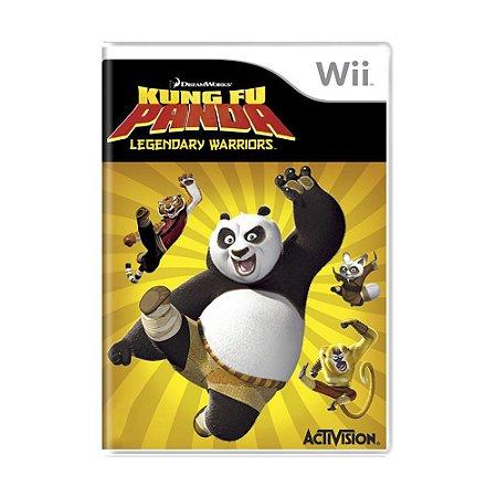 Jogo DreamWorks Kung Fu Panda: Legendary Warriors - Wii