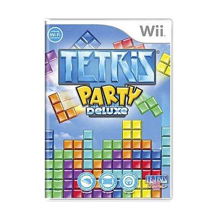 Jogo Tetris Party Deluxe - Wii