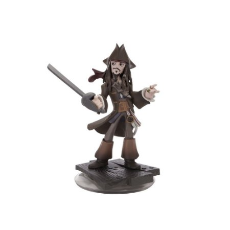 Boneco Disney infinity 1.0: Jack Sparrow