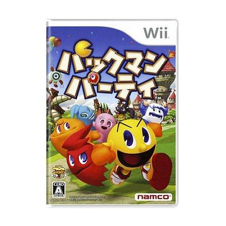 Jogo Pac-Man Party - Wii (Japonês)