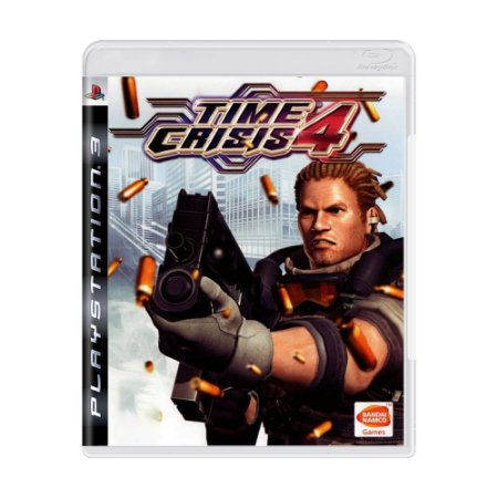 Jogo Time Crisis 4 - PS3