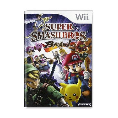 Jogo Super Smash Bros. Brawl - Wii (Europeu)