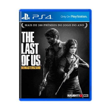 Jogo The Last of Us Remasterizado - PS4