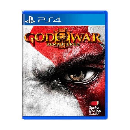 Jogo God of War III: Remastered - PS4