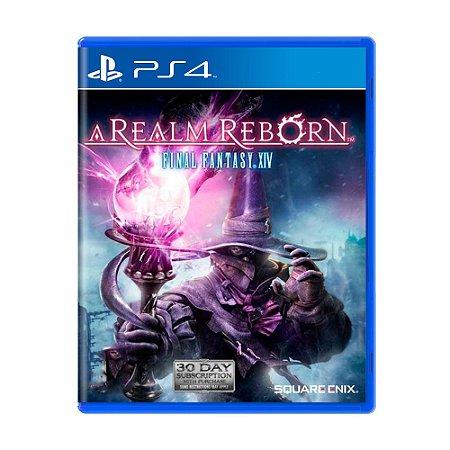 Jogo Final Fantasy XIV: A Realm Reborn - PS4 [Inglês]