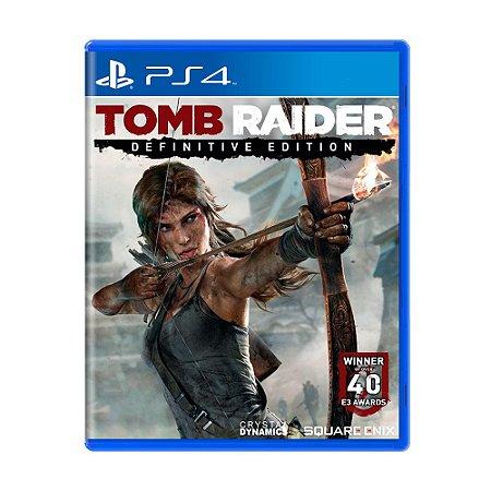 Jogo Tomb Raider (Definitive Edition) - PS4