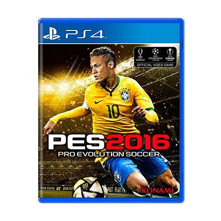 Jogo Pro Evolution Soccer 2016 (PES 16) - PS4