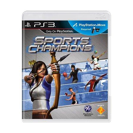 Jogo Sports Champions - PS3