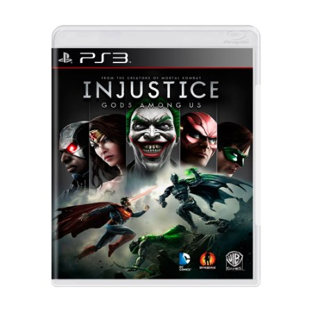 Jogo Injustice Gods Among Us - PS3