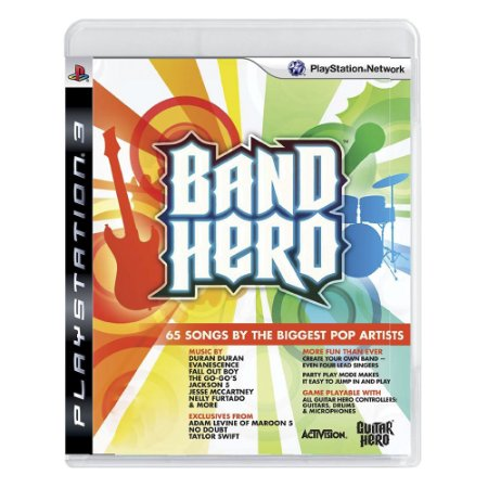 Jogo Band Hero - PS3