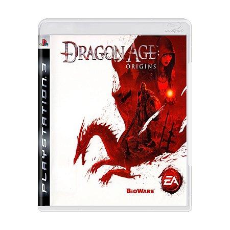 Jogo Dragon Age Origins - PS3