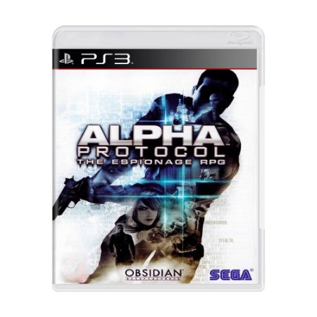 Jogo Alpha Protocol: The Espionage RPG - PS3