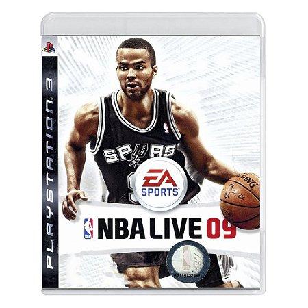 Jogo NBA Live 09 - PS3