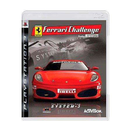 Jogo Ferrari Challenge - PS3