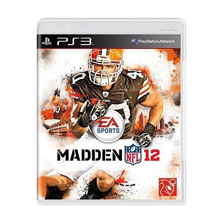 Jogo Madden NFL 12 - PS3