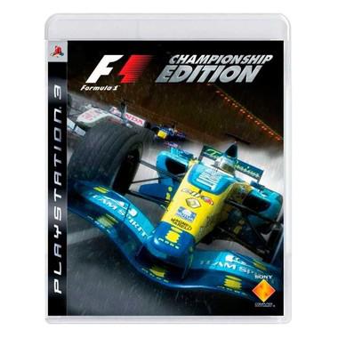 Jogo Formula 1: Championship Edition - PS3
