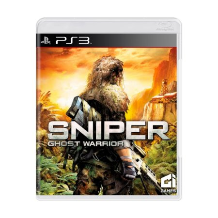 Jogo Sniper Ghost Warrior - PS3