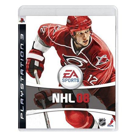Jogo NHL 08 - PS3