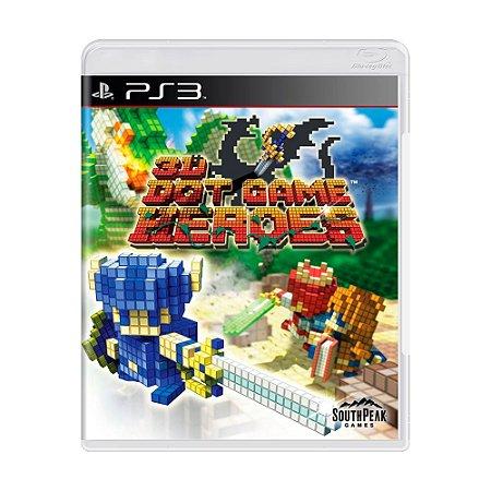 Jogo 3D Dot Game Heroes - PS3