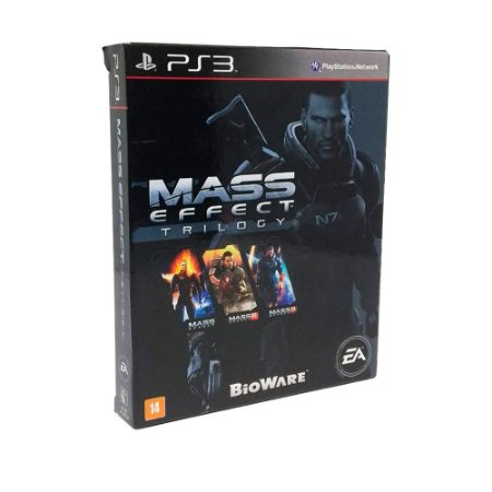 Jogo Mass Effect Trilogy - PS3
