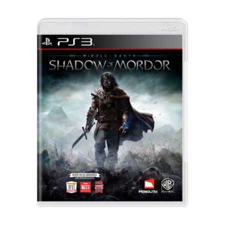 Jogo Terra-Média: Sombras de Mordor - PS3