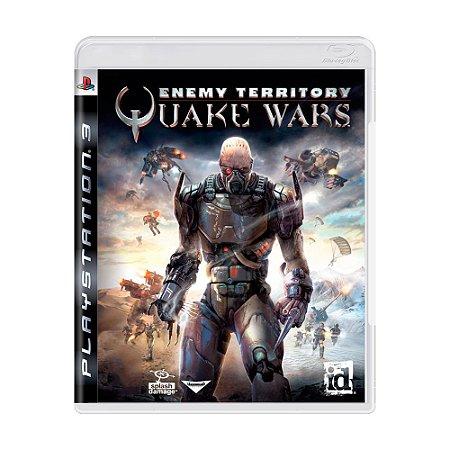 Jogo Enemy Territory: Quake Wars - PS3