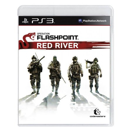 Jogo Operation Flashpoint: Red River - PS3