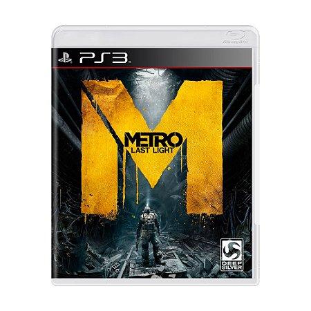 Jogo Metro Last Light - PS3