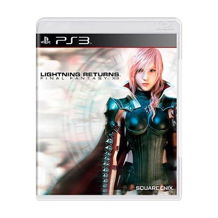 Jogo Final Fantasy XIII: Lightning Returns - PS3