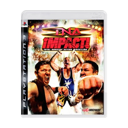 Jogo TNA Impact: Total Nonstop Action Wrestling - PS3
