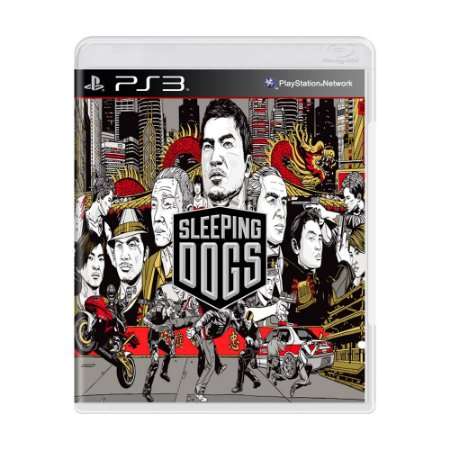 Jogo Sleeping Dogs - PS3