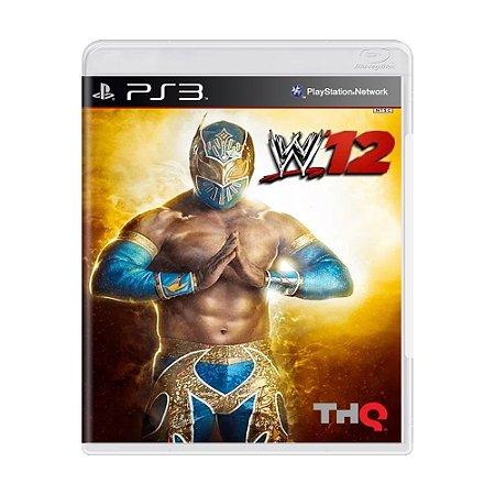 Jogo WWE 12 - PS3