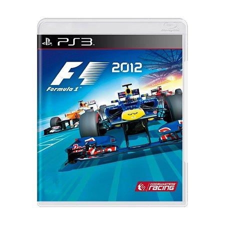 Jogo Formula 1 2012 - PS3