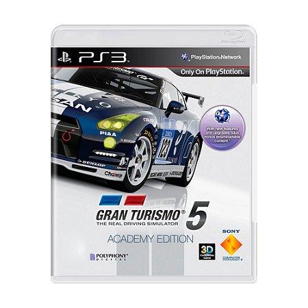 Jogo Gran Turismo 5: Academy Edition - PS3
