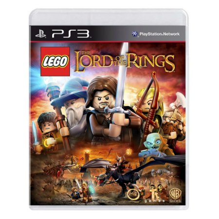 Jogo LEGO O Senhor dos Anéis - PS3